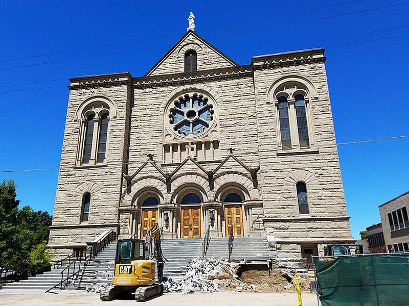 <strong>St. John's Cathedral</strong> was built in 1912 and is one of the most recognized churches in the city. the architecture is unmatched. We completed installation of an air conditioning system in the church for the first time since the building was built… We completed the project in 1990.